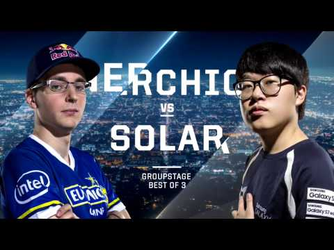 Nerchio vs. Solar ZvZ - Group D Elimination - WCS Global Finals 2016 - StarCraft II