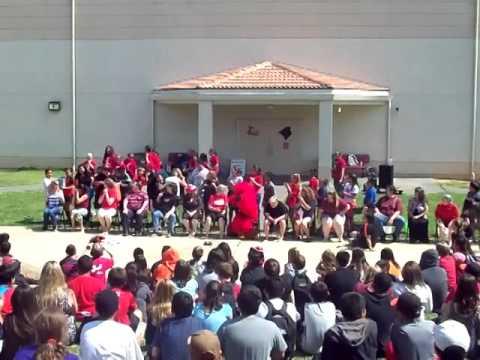 Winters Middle School Ice Bucket Challenge Sept 2014