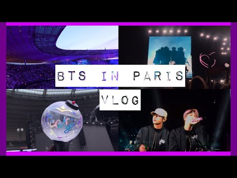 VLOG BTS IN PARIS DAY 1 ( CAT DIAMANT)