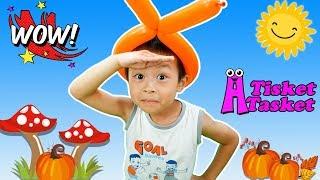 A Tisket A Tasket Song   Nursery Rhymes Education And Kids Songs by BonBi TV
