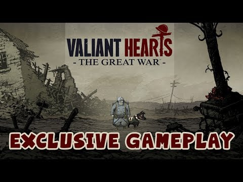 E3 Exclusive Gameplay - Valiant Hearts: The Great War