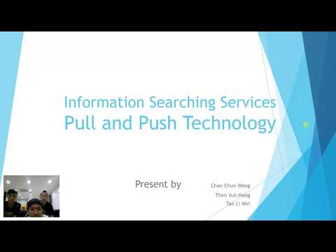 Pull and Push Technology