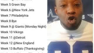 Complete 2019 Dallas Cowboys Schedule