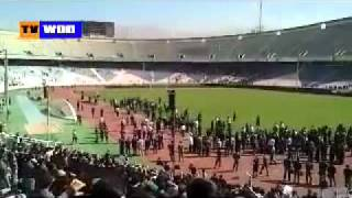 YouTube سخنرانی آتیلا حجازی در ورزشگاه آزادی تهران