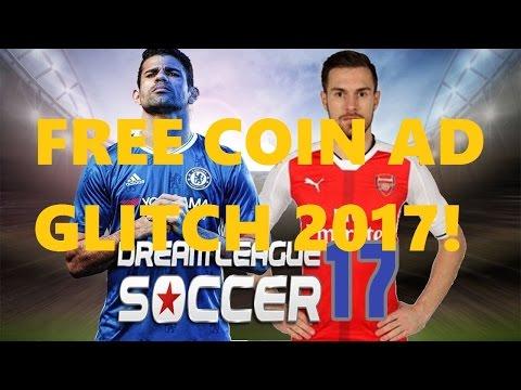 FREE Dream League Soccer 2017 Coin Video Ad Glitch! (EASY)