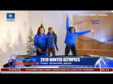 Nigeria's Bobsled Team Ready To Compete At The 2018 Winter Olympic |Sports This Morning|