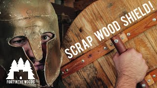 Building a Scrap Wood Shield!!
