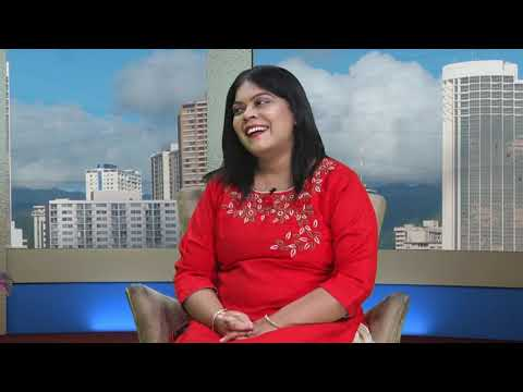 Talk show with Nadja in India
