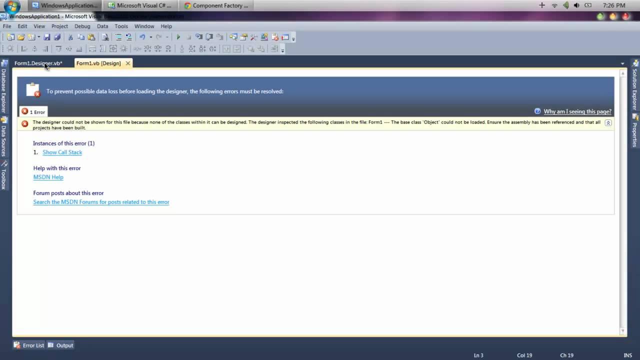 Visual Basic C Customize Windows Forms