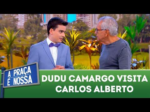Dudu Camargo visita Carlos Alberto | A Praça é Nossa (22/03/18)
