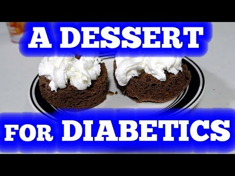 A Dessert a Diabetic can Love! - Chocolate Cake for diabetics