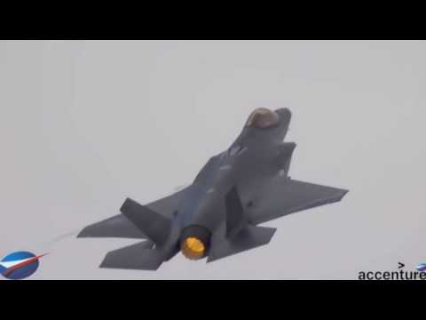 Paris Airshow F-35 flight (25 June)