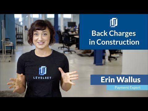 Back Charges In Construction [What They Are & Best Practice 2020]