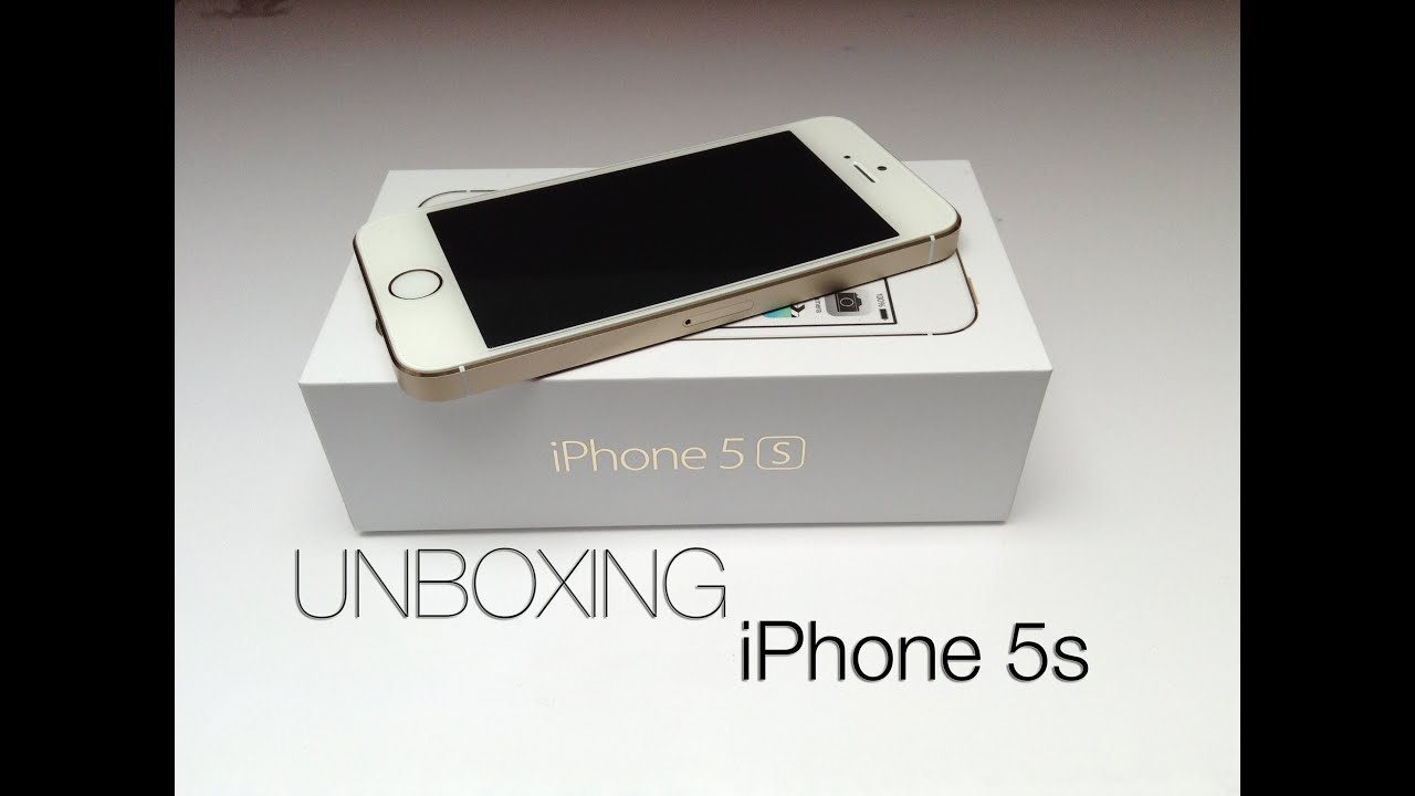 Déballage (UNBOXING) de l'iPhone 5S Gold d'Apple ! - YouTubeIphone 5s Champagne Gold Unboxing