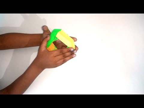 Slinky Origami | How to Make a Paper Spring Easy