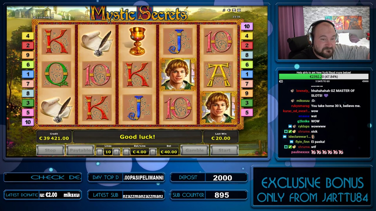 How to win back bonuses in a casino