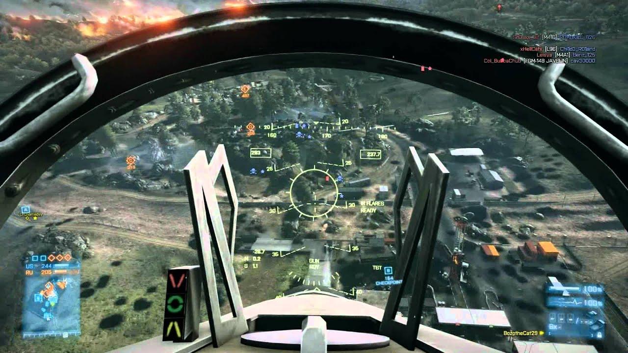 Bf3 Jet Gameplay