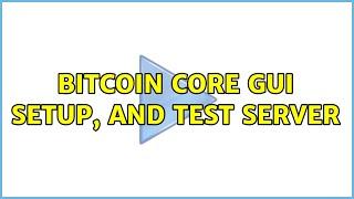 bitcoin core szerver