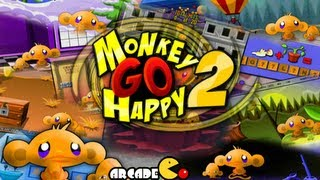 Monkey GO Happy 2 Walkthrough All Levels