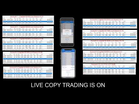 2.1.20 Forextrade1 - Copy Trading 2nd Live Streaming Profit  Running $3000k