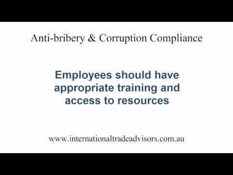 Anti-bribery and Corruption Compliance for Australian Companies