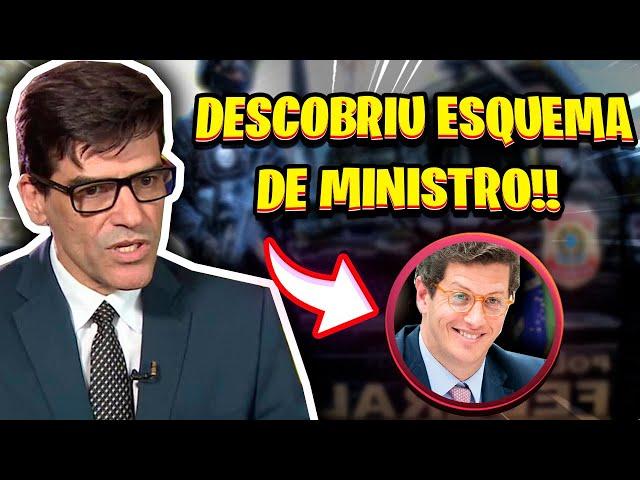 DELEGADO DA PF DESCOMBRE ESQUEMA DE MINISTRO E É AFASTADO