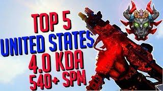 Top 5 TDM EKIA US | 4.00 KDA | Prestige Master | Level 650+ | Road to 1000 | (20/365) [Noxcy]