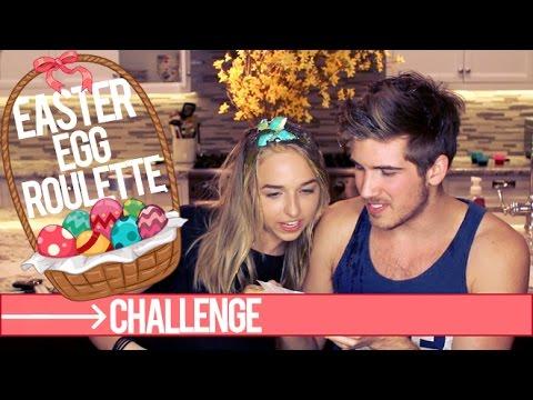 EASTER EGG ROULETTE CHALLENGE (w/ Joey Graceffa)