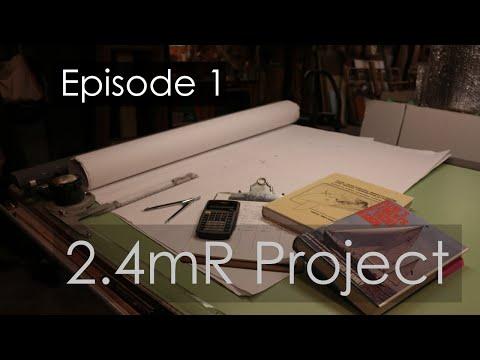 International 2.4mR Sailboat Project - Episode 1