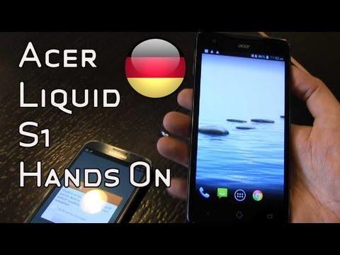 Acer Liquid S1 Phablet mit Dual-SIM im Hands On