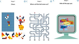 Easy Game Brain Test Daily Challenge 28 June 2020 Stage 1,2,3 Solution