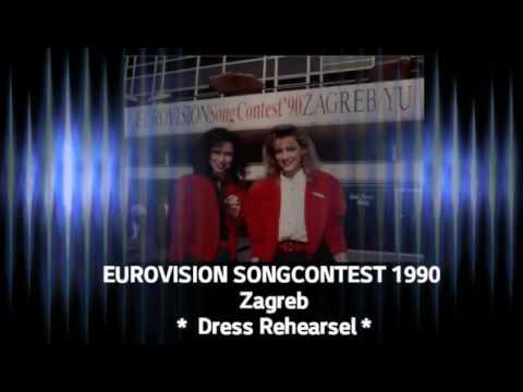 """Maywood - """"Ik wil alles met je delen"""" - Dress Rehearsel EUROVISION 1990"""