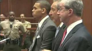 CHRIS BROWN'S COURT TRIAL ARRAIGNMENT