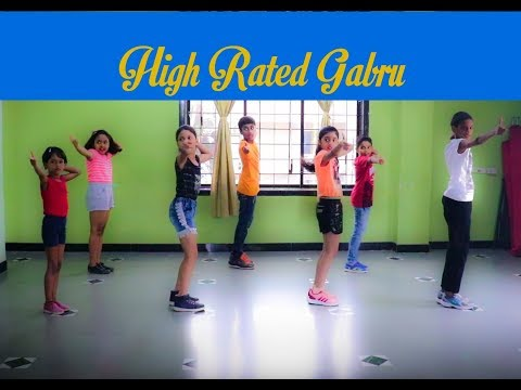 """High Rated Gabru""   Dance Cover   @SonuDanceAcademy"