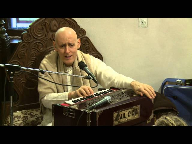 2012.11.11. Kirtan before SB lecture HG SDA ISKCON Kaunas Lithuania Travel Video
