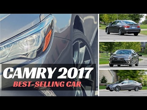 NEWEST - Toyota Camry 2017 : America's Best-Selling Car