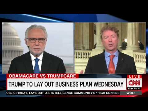 Donald Trump Agrees with Rand Paul on Repealing Obamacare and the Budget