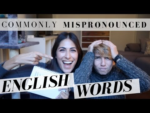 My Italian nephew tries to pronounce English words!