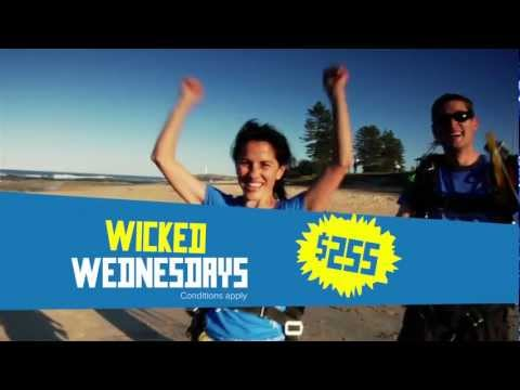 Skydive the Beach television commercial
