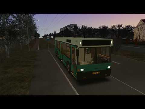 Omsi 2 - Новосибирск 7 маршрут (МАЗ 104) с Котельной
