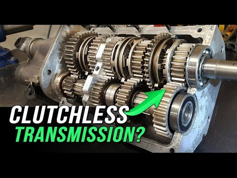 How A Clutchless Racing Transmission Works