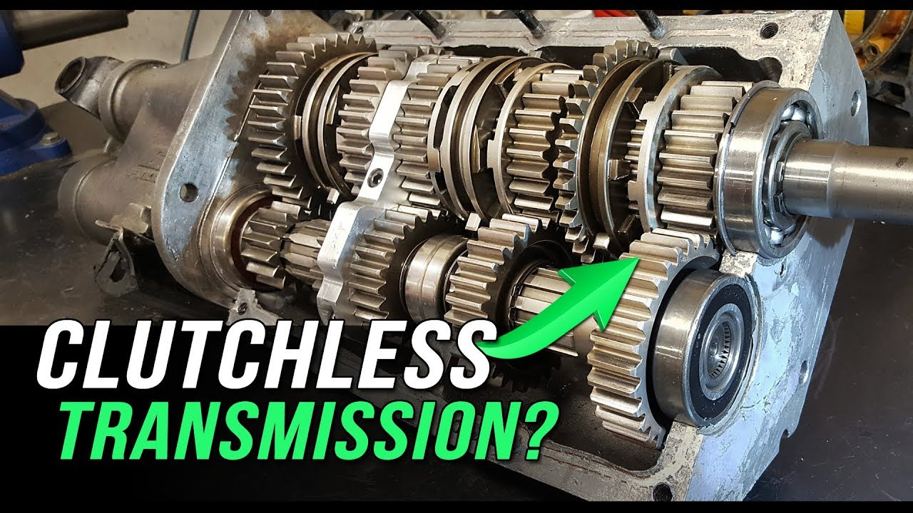 How A Clutchless Racing Transmission Works Youtube