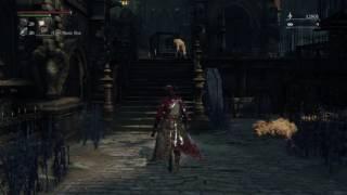 GLITCHY DOG IN BLOODBORNE