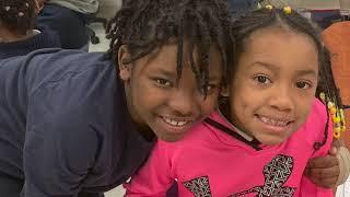 Rashad Jennings Visita a Los Niños del Gremio DC Public Charter School