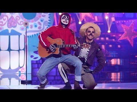 Carlos Baute Imita A Miguel De 'Coco' En 'Recuérdame' Y 'Un Poco Loco' - Tu Cara Me Suena