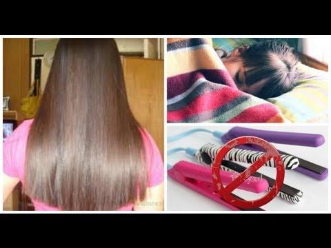 Howto: Keep Hair Straight Overnight