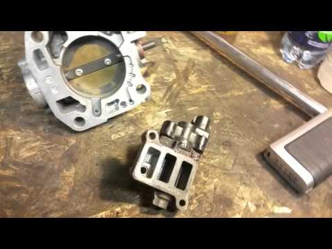 Surging idle 2002 Honda accord - bad idle air control valve