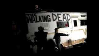 The Walking Dead Halloween Display