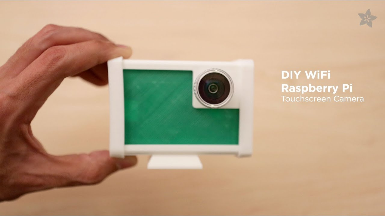 Overview | DIY WiFi Raspberry Pi Touchscreen Camera