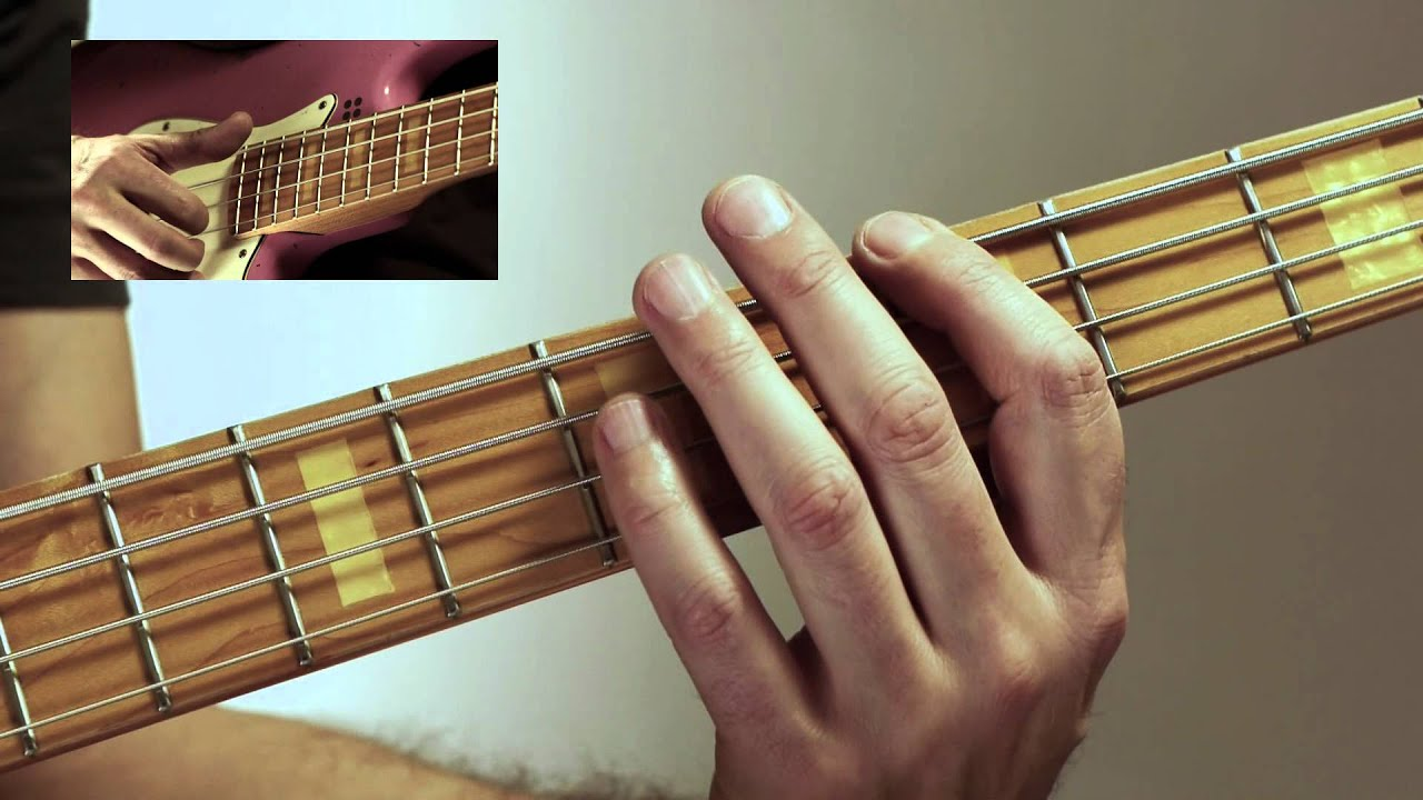 beginning slap bass dvd excerpt easy slap bass in a youtube. Black Bedroom Furniture Sets. Home Design Ideas